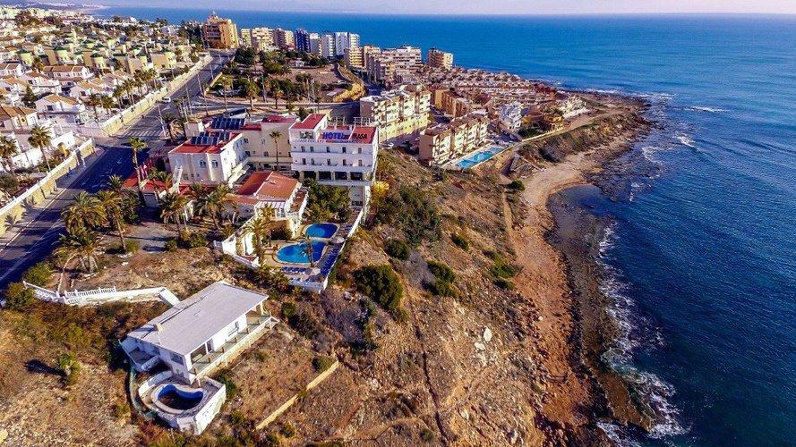 Панорамный вид hotel masa internacional torrevieja, alicante